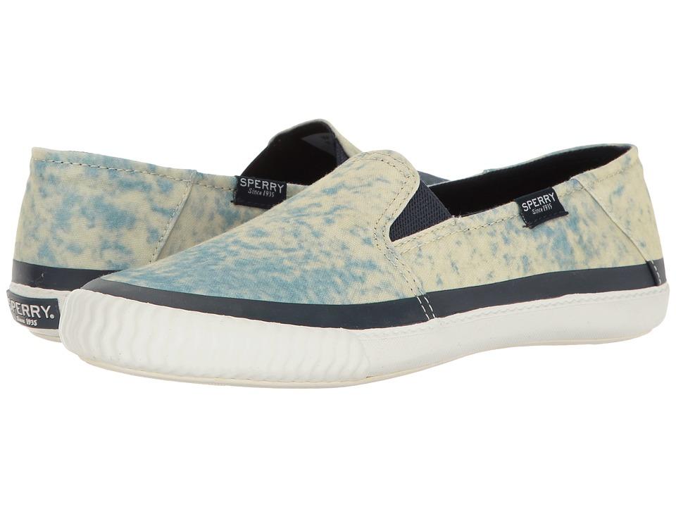 Sperry - Sayel Dive Palm Sky (Blue Multi) Women's Slip on Shoes