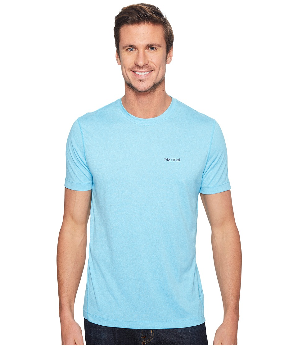 Marmot - Conveyor S/S Tee (Paradise Heather) Men's T Shirt