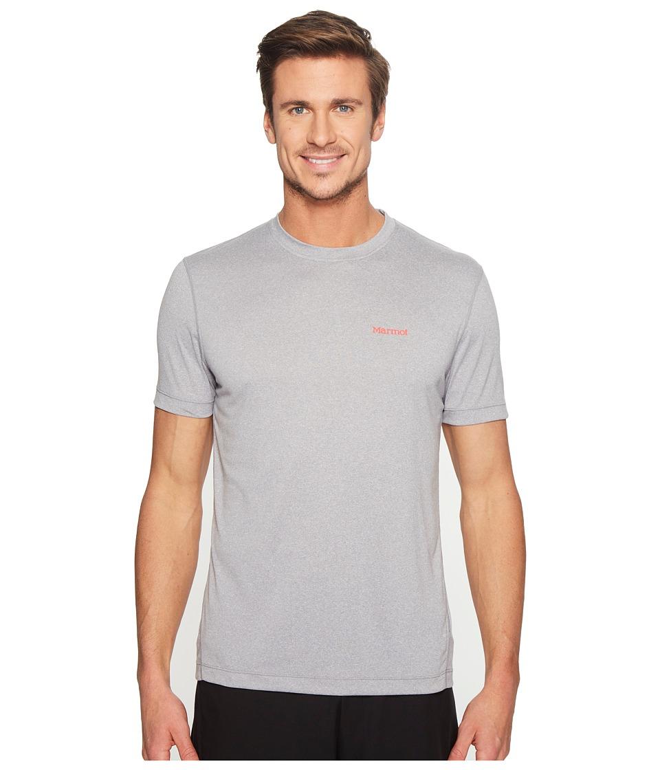 Marmot - Conveyor S/S Tee (Grey Storm Heather) Men's T Shirt