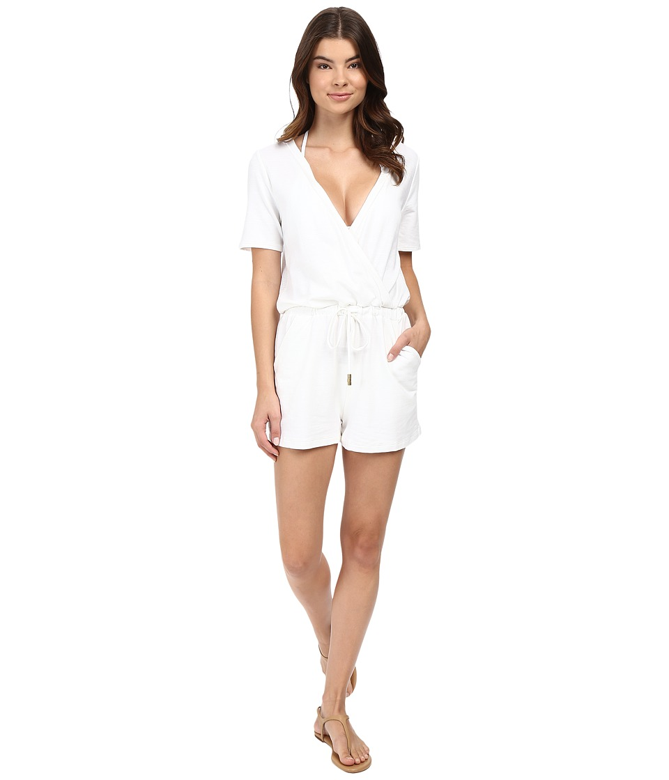Athena - Caley Romper (White) Women's Jumpsuit & Rompers One Piece