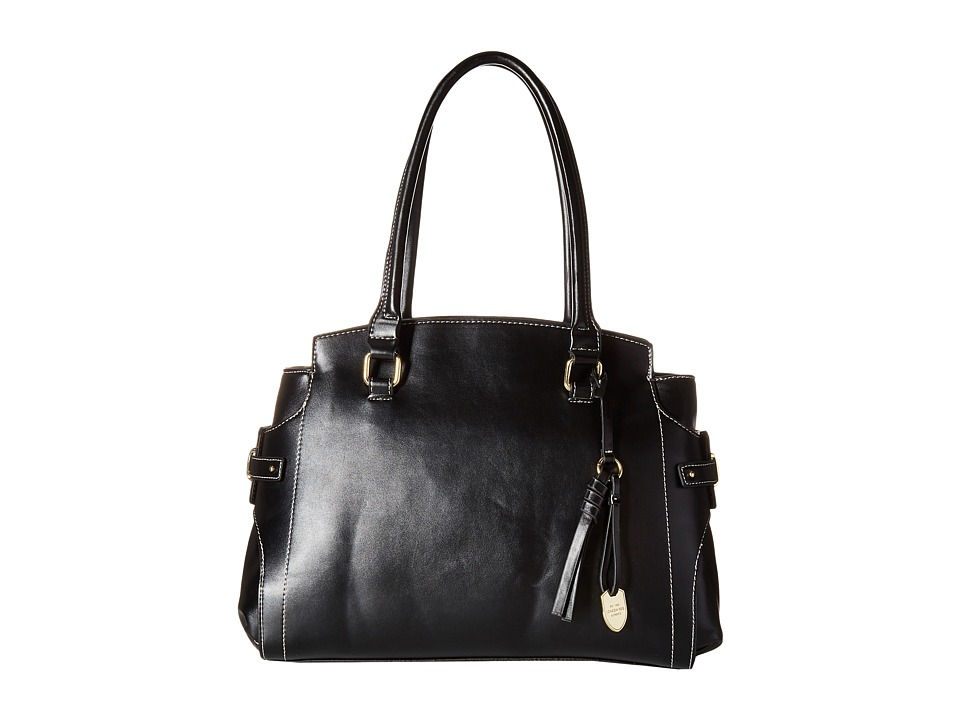 London Fog - Kingston Tripe (Black) Handbags