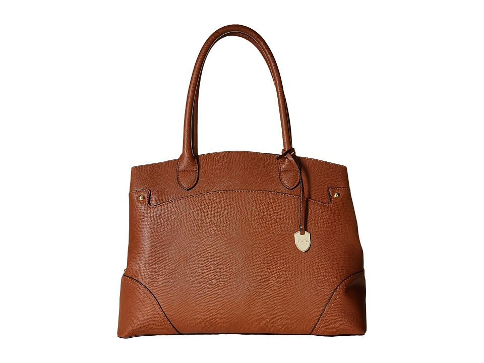 London Fog - Reid Tote (Cognac) Tote Handbags
