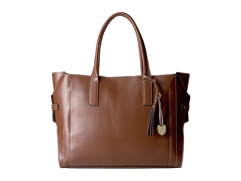 London Fog - Kingston Tote (Nutmeg) Tote Handbags
