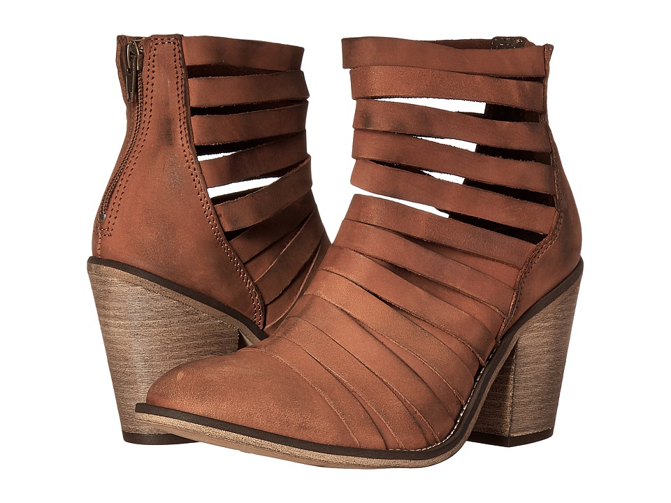 Free People - Hybrid Heel Boot (Terracotta) Women's Shoes
