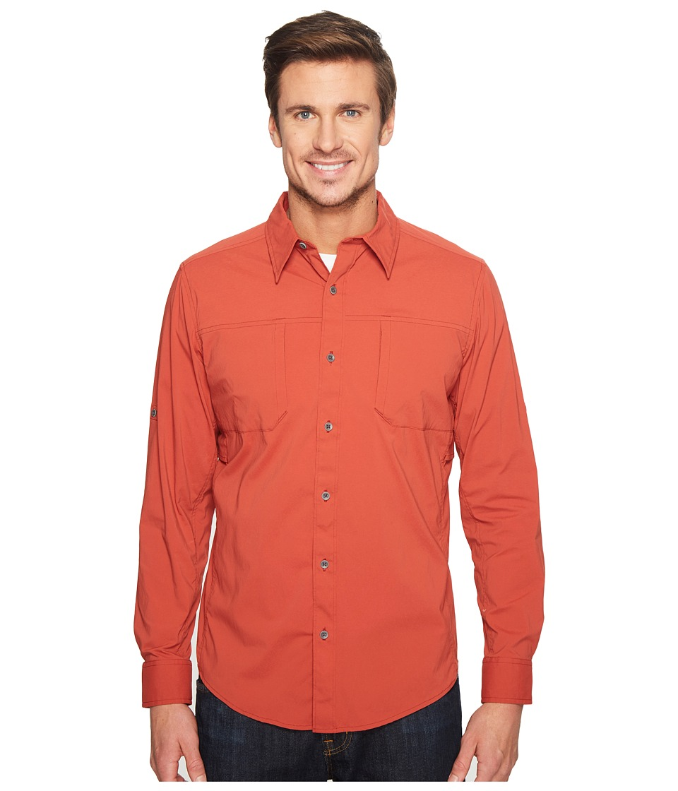 Marmot - Trient Long Sleeve (Retro Red) Men's Clothing
