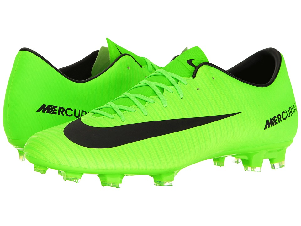 Nike - Mercurial Victory VI FG (Electric Green/Black/Flash Lime/White) Men's Soccer Shoes