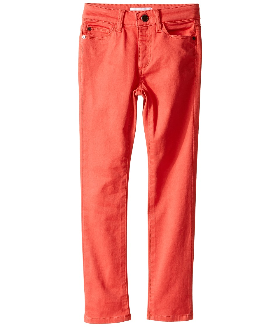 DL1961 Kids - Chloe Skinny Jeans in Licorice (Toddler/Little Kids) (Licorice) Girl's Jeans