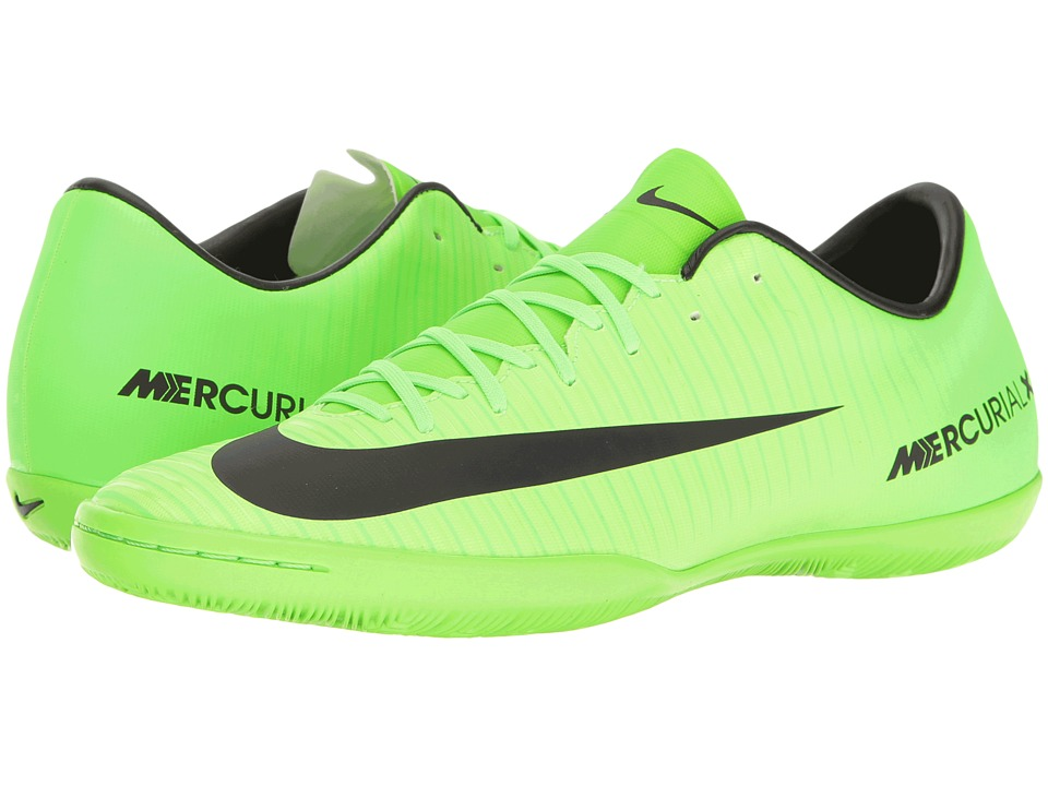 Nike - Mercurial Victory VI IC (Electric Green/Black/Flash Lime/White) Men's Soccer Shoes