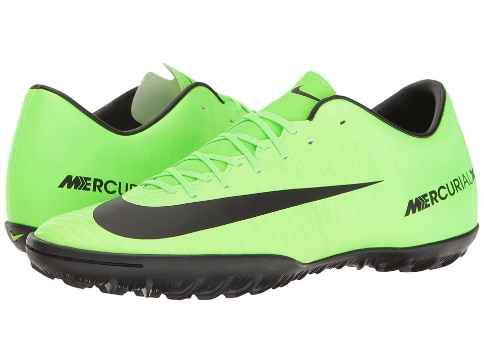 Nike - Mercurial Victory VI TF (Electric Green/Black/Flash Lime/White) Men's Soccer Shoes