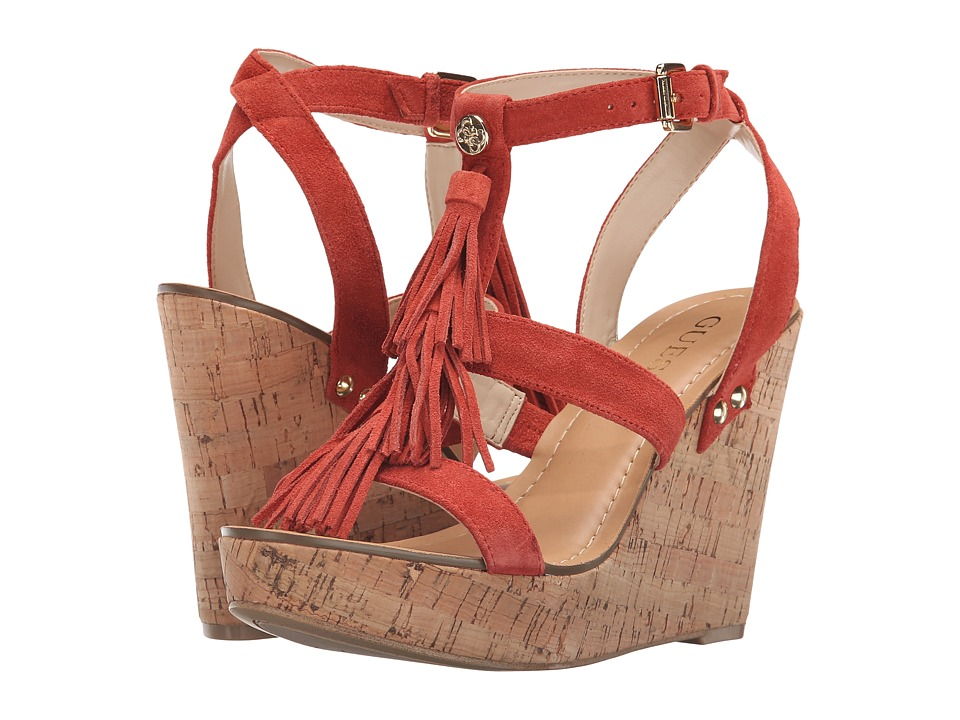 GUESS - Heya (Tan) Women's Shoes