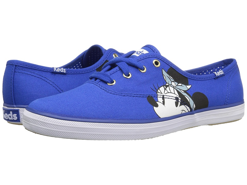 Keds Champion Minnie Placement (Blue) Women