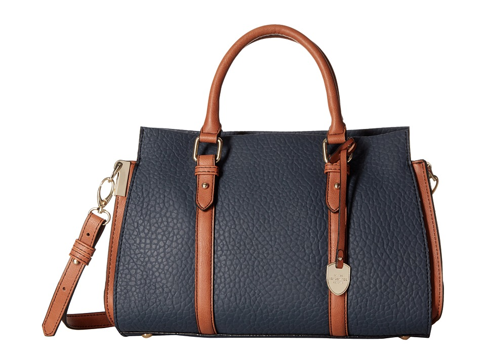 London Fog - Croft Satchel (Cadet) Satchel Handbags