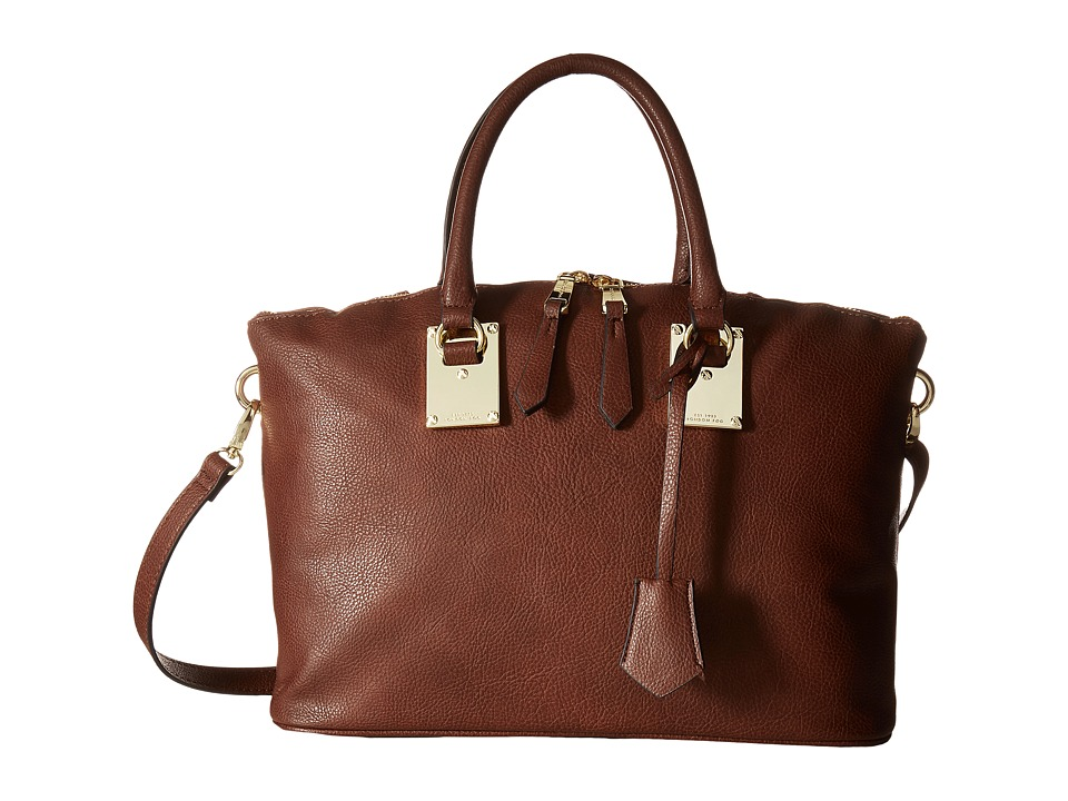 London Fog - Smithfield Satchel (Nutmeg) Satchel Handbags