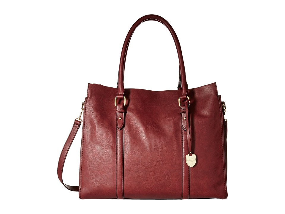 London Fog - Croft Tote (Brick) Tote Handbags