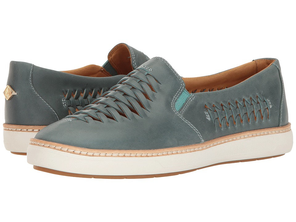 Sperry - Gold Cup Rey Huarache (Aqua) Women's Slip on Shoes