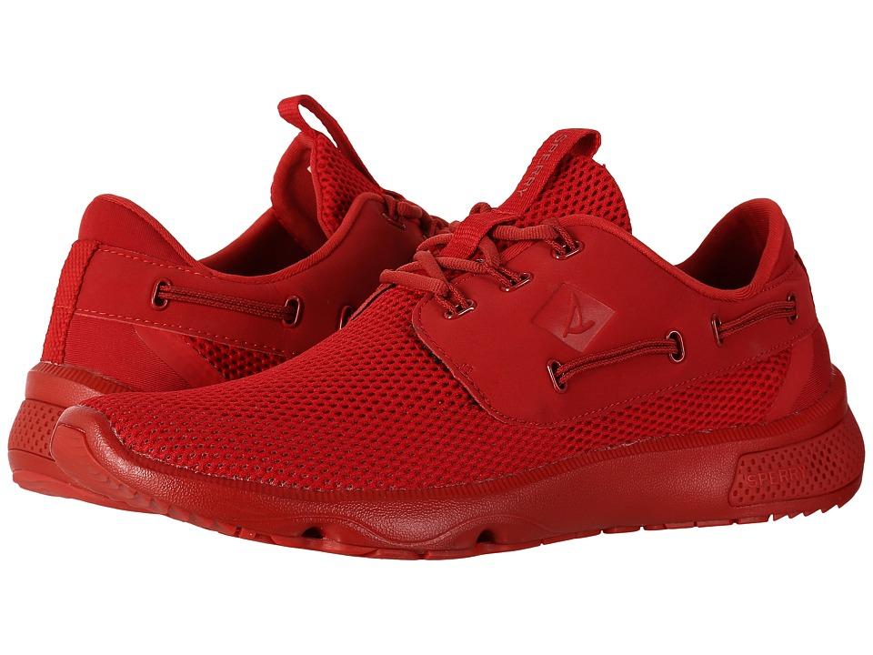 Sperry 7 Seas 3-Eye Flooded (Red) Men