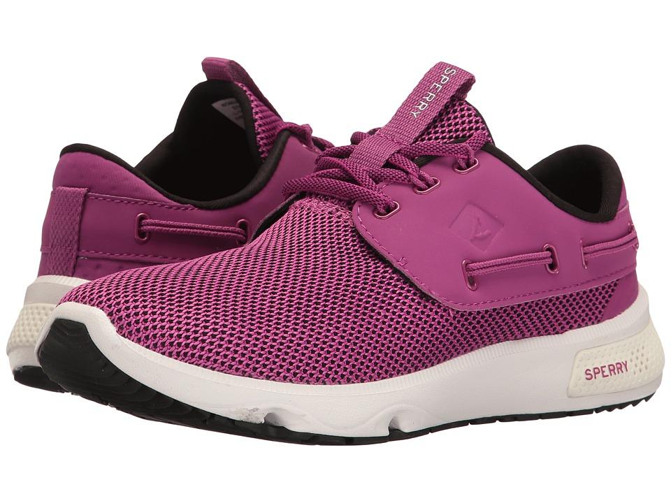 Sperry 7 Seas 3-Eye (Berry Pink) Women