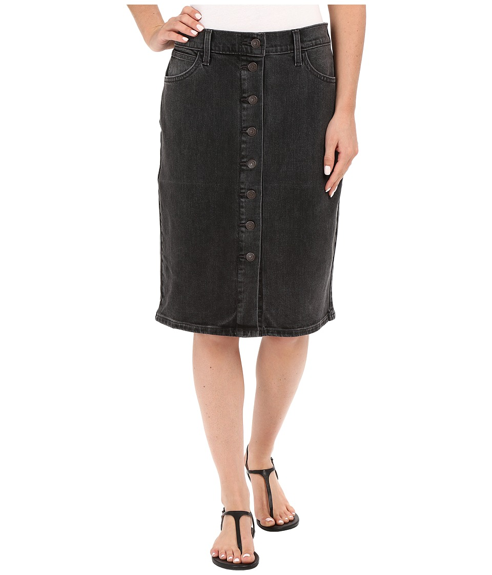 Levi's(r) Womens - Button Down Pencil Skirt (Faded Shadow) Women's Skirt