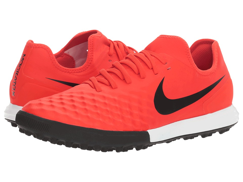Nike - Magistax Finale II TF (Max Orange/Black/Total Crimson) Men's Shoes