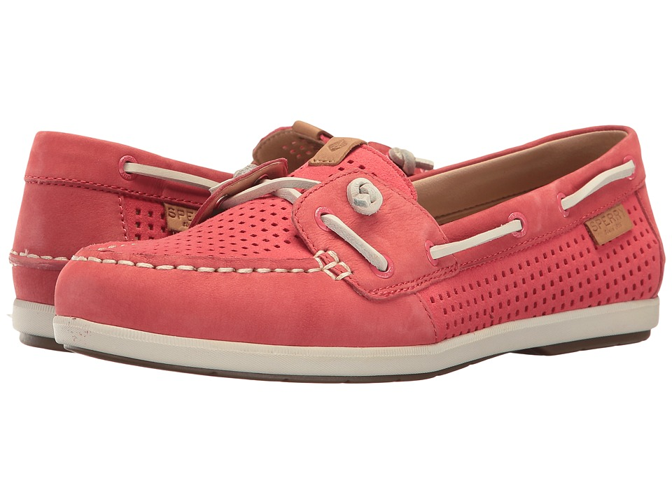 Sperry - Coil Ivy Perf (Wild Rose) Women's Moccasin Shoes