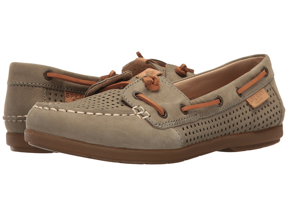 Sperry Coil Ivy Perf (Olive) Women