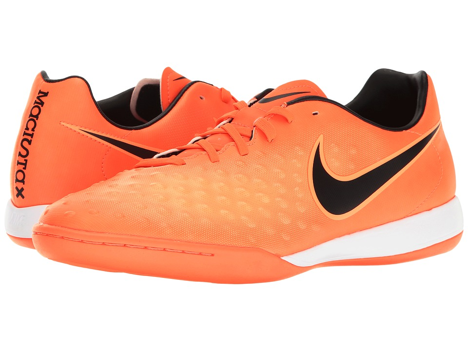 Nike - Magista Onda II IC (Total Crimson/Black/Bright Mango) Men's Shoes