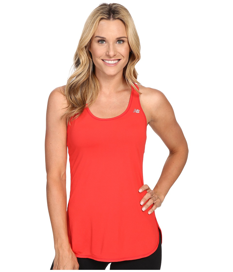 New Balance - Accelerate Tunic (Cerise) Women's Sleeveless