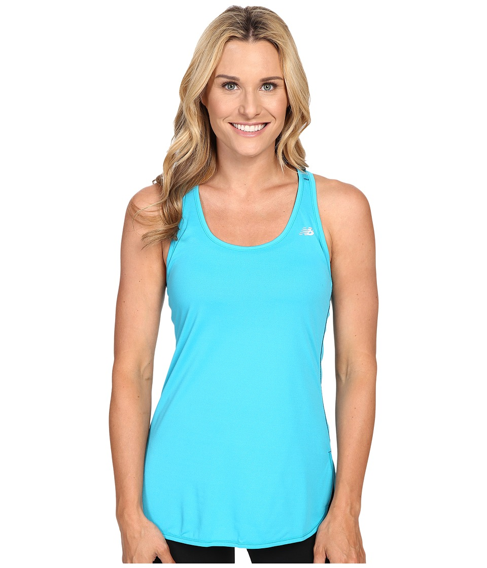 New Balance - Accelerate Tunic (Seaglass) Women's Sleeveless