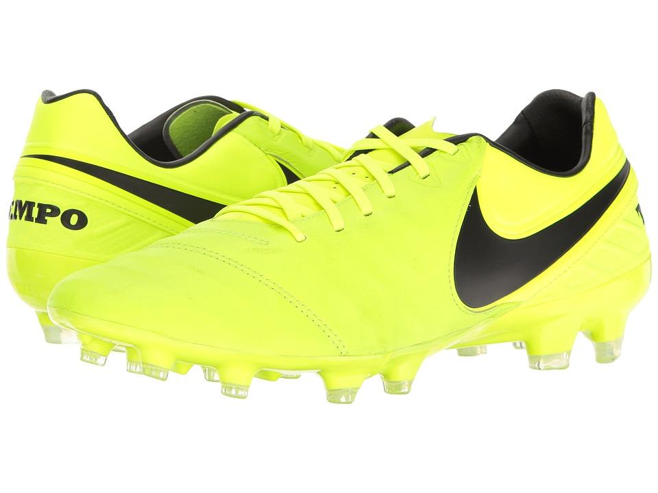 Nike - Tiempo Legacy II FG (Volt/Black/Volt) Men's Soccer Shoes