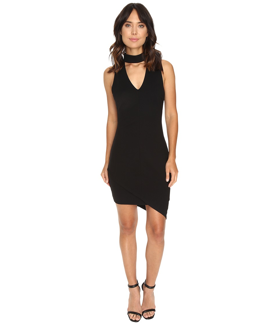 Adelyn Rae - Ponte Bodycon (Black) Women's Dress