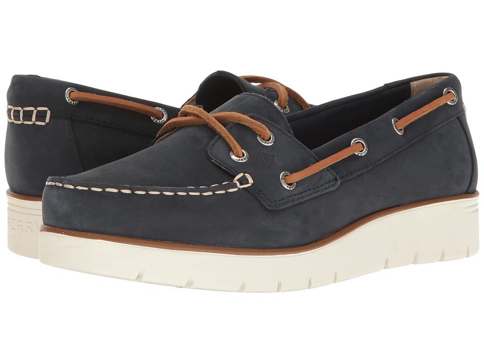 Sperry - Azur Cora Nubuck (Cobalt Blue) Women's Moccasin Shoes