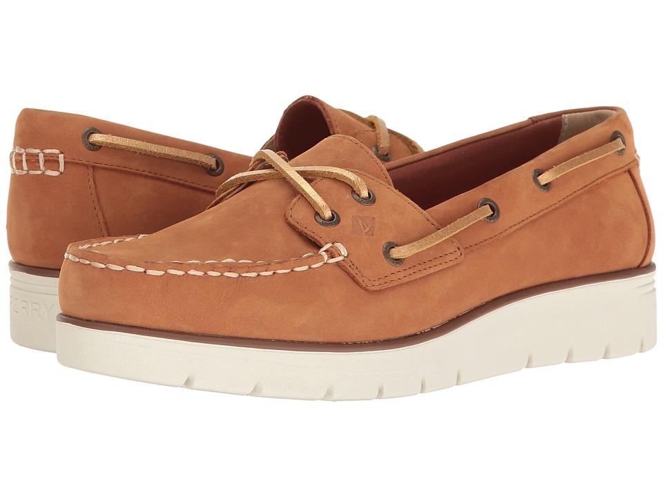 Sperry - Azur Cora Nubuck (Sierra) Women's Moccasin Shoes
