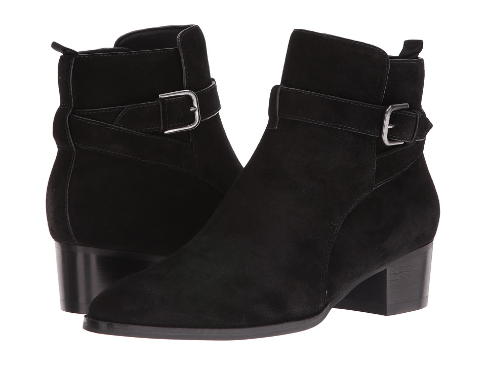Marc Fisher LTD Razzle (Black Suede) Women