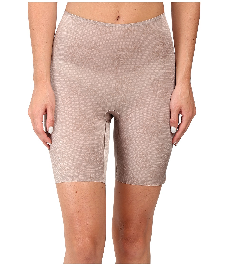 Spanx - Pretty Smart Midthigh Shorts (Spanx Lace Taupe) Women's Underwear
