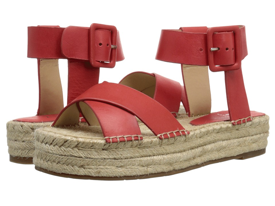 Marc Fisher LTD - Vienna (Red Leather) Women's Shoes