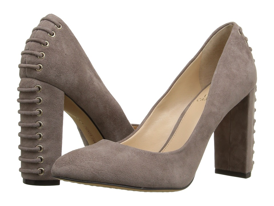 Vince Camuto Dallan (Stone Taupe True Suede) High Heels