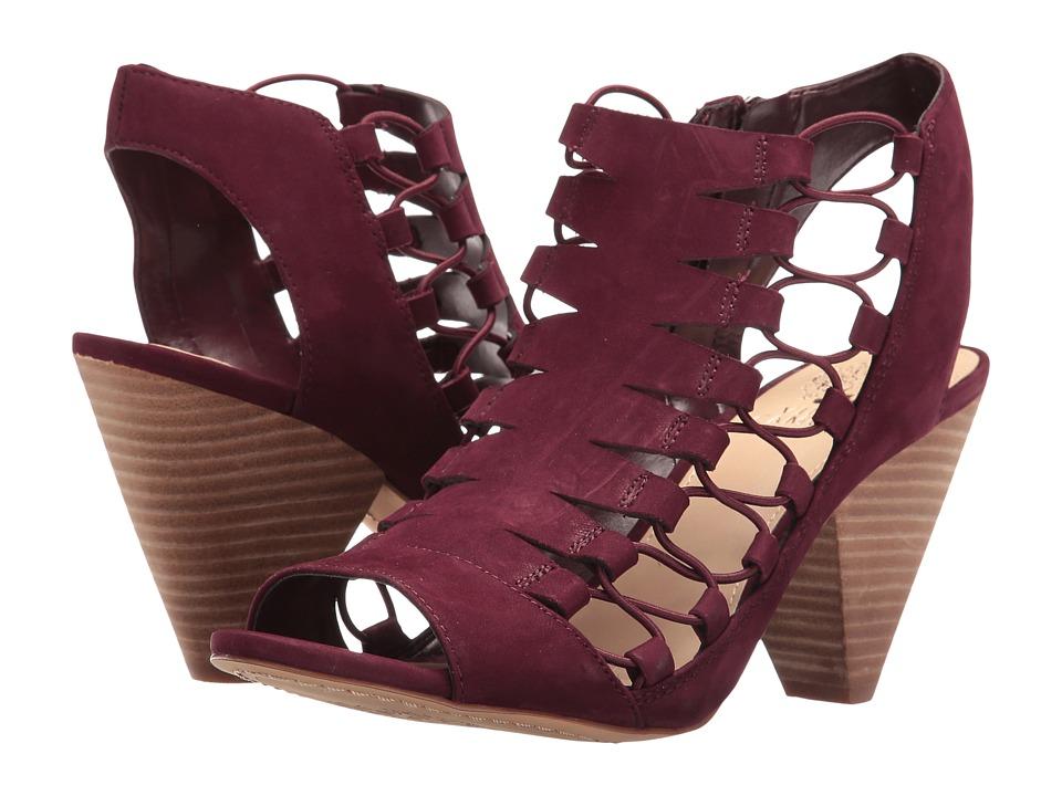 Vince Camuto - Eliaz (Deep Sugar Plum Soft Nubuck) Women's Shoes