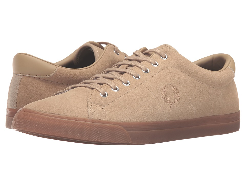 Fred Perry - Underspin Suede (Sandstorm/Sandstorm) Men's Shoes
