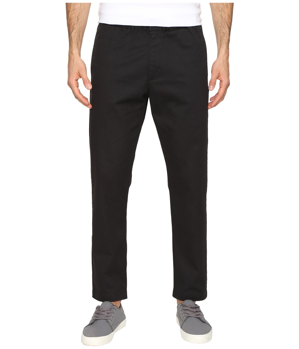 Obey - Ludlow Twill Pants (Black) Men's Clothing