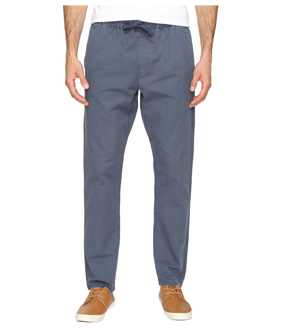 Obey - Travelers Slub Twill Pants (Dark Slate) Men's Clothing