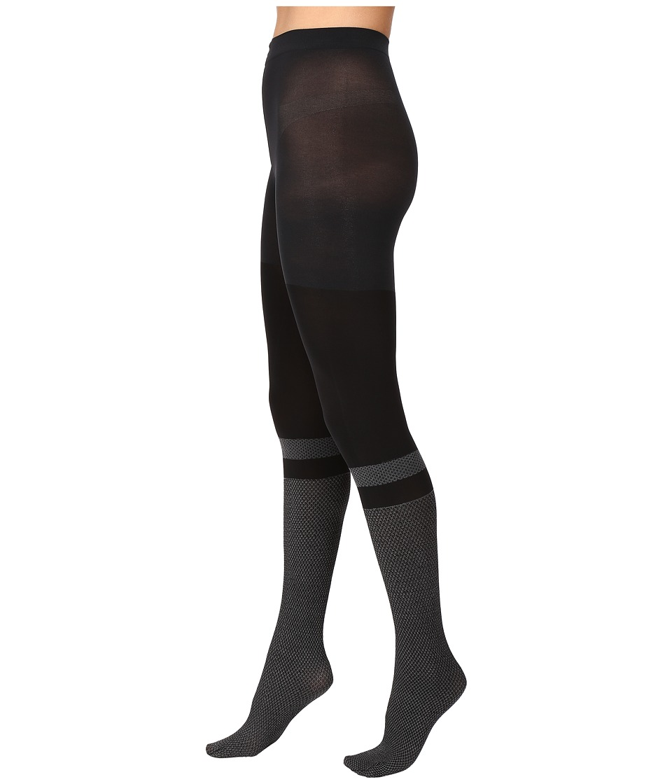 Spanx - Faux Socks Tights (Very Black) Control Top Hose