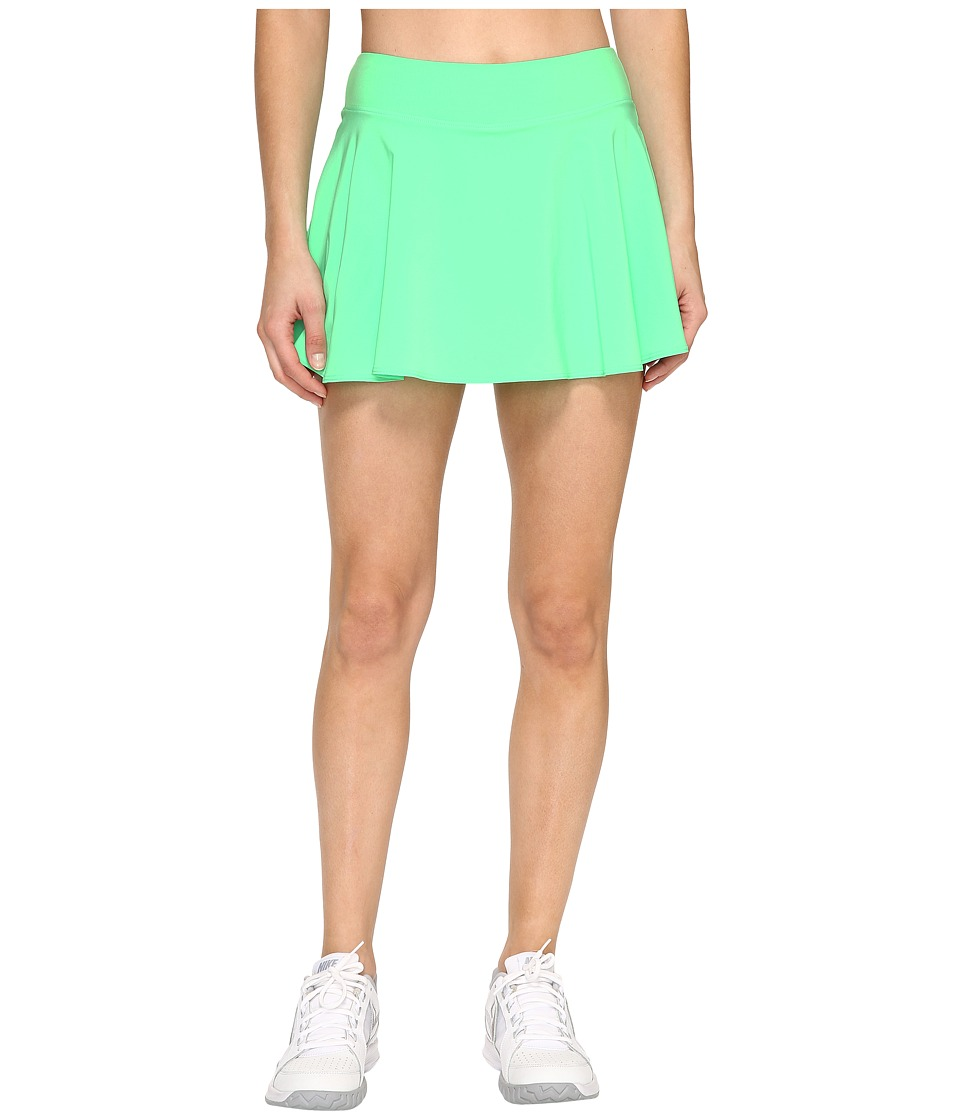 Nike - Court Tennis Skirt (Electro Green/White) Women's Skort