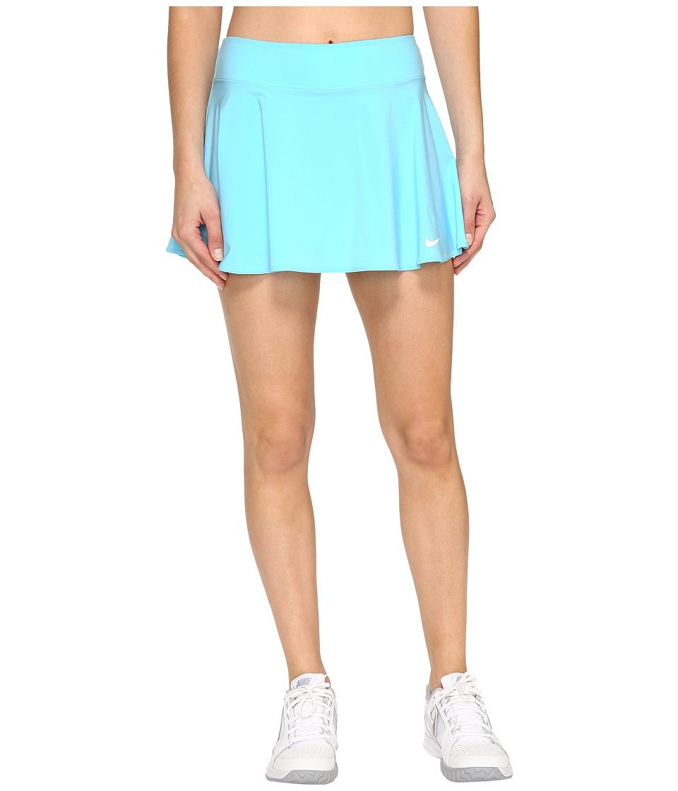 Nike Court Tennis Skirt (Still Blue/White) Women