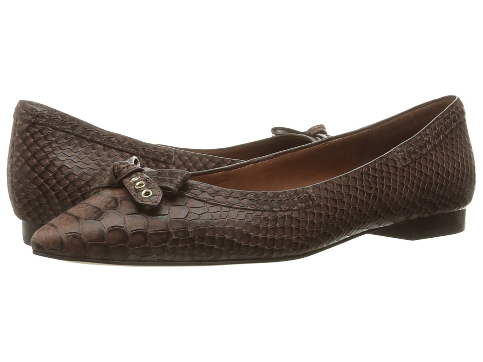 Cole Haan - Alice Bow Skimmer (Chestnut Snake Print) Women's Shoes