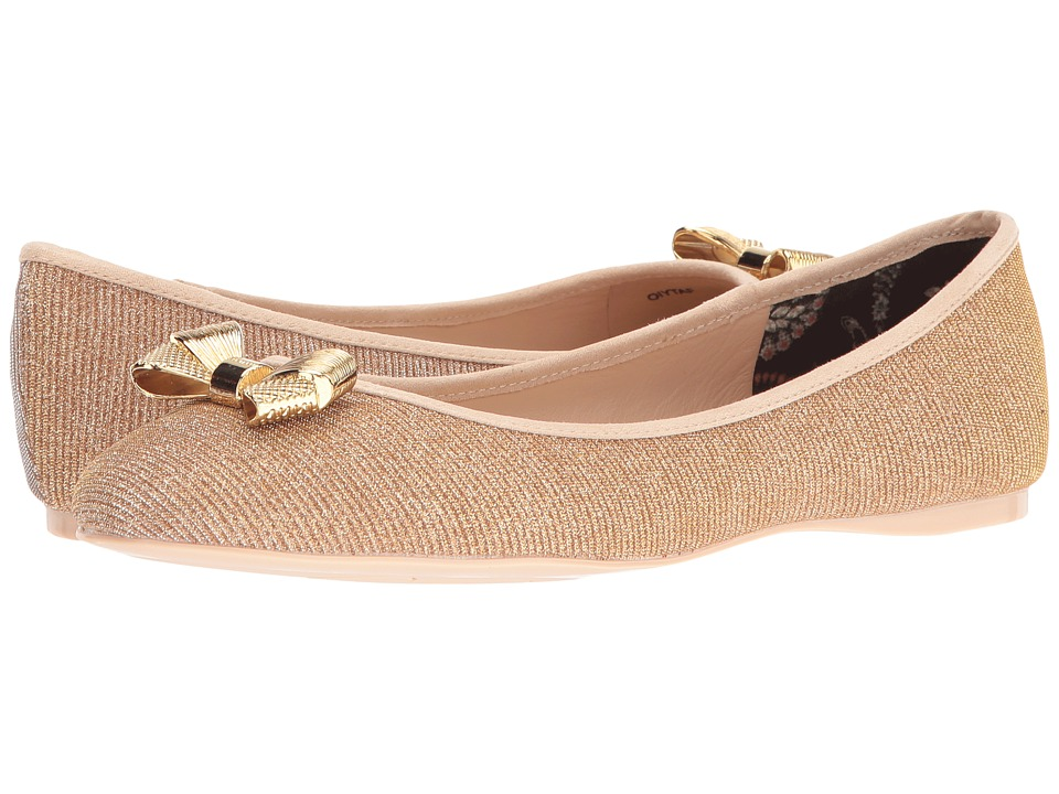 Ted Baker - Imme J (Gold) Women's Flat Shoes