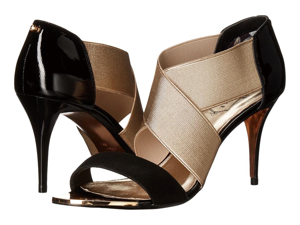 Ted Baker - Leniya (Black/Gold) Women's Shoes