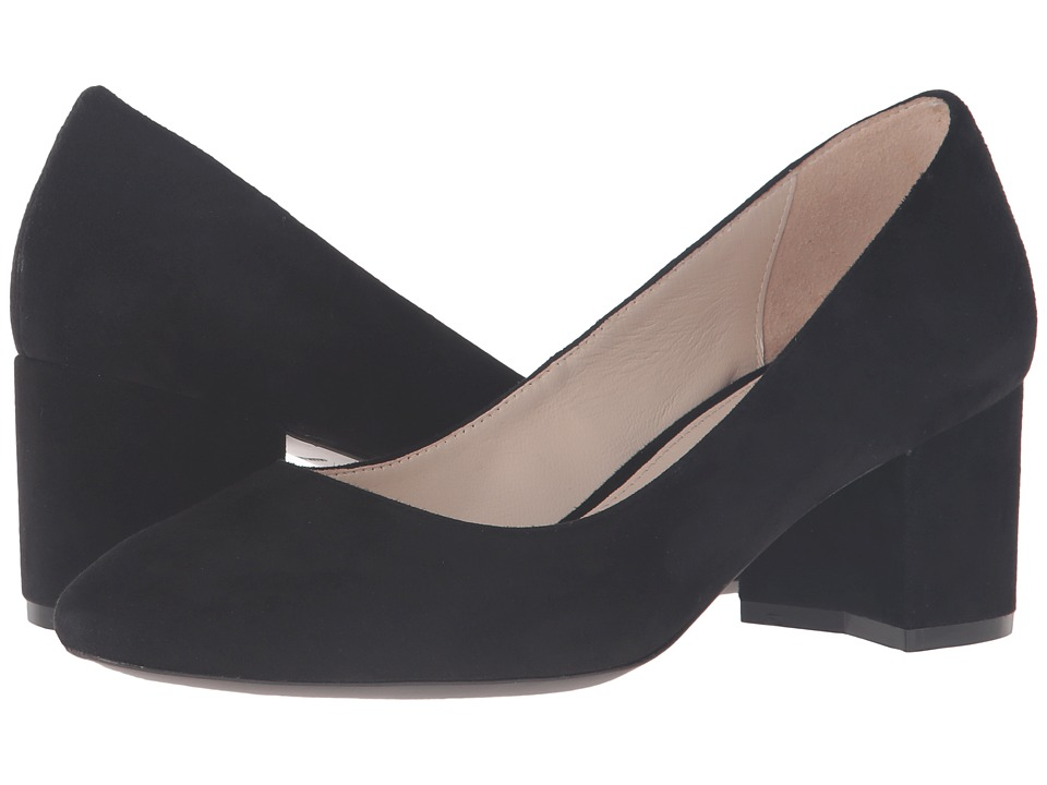 Cole Haan - Eliree Pump 55mm (Black Suede) Women's Shoes