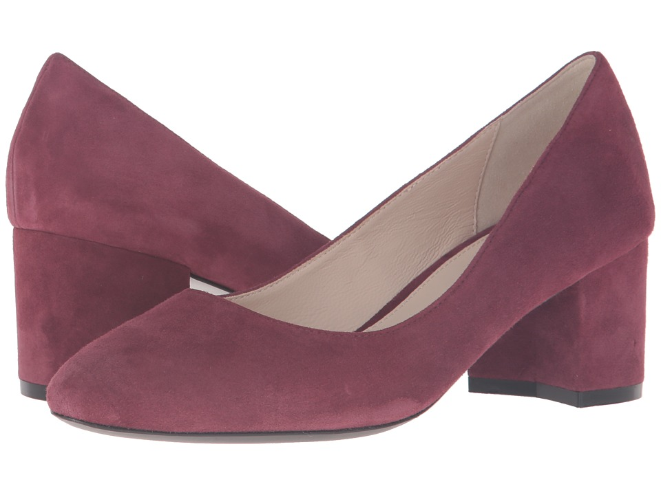 Cole Haan - Eliree Pump 55mm (Tawny Port Suede) Women's Shoes