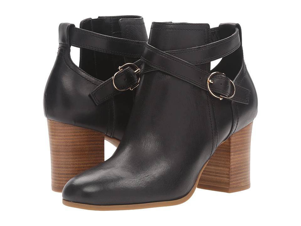 Cole Haan Bonnell Bootie (Black Leather) Women