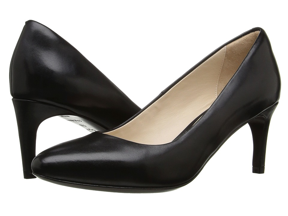 Cole Haan - Grace Grand Pump 65MM (Black Leather) Women's Shoes
